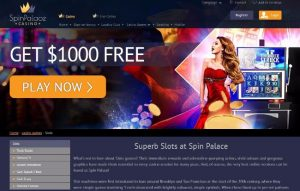 spin palace casino online pokies