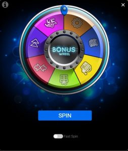 spin palace spin the wheel